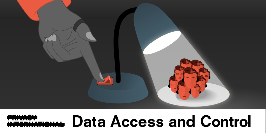 Monday: Watching the watchers: Accessing and challenging control over our data​​​​​​​