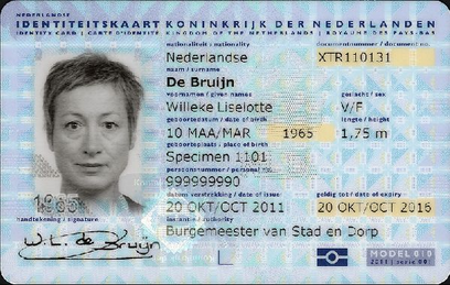 Dutch ID card