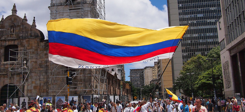 Colombia flag UPR