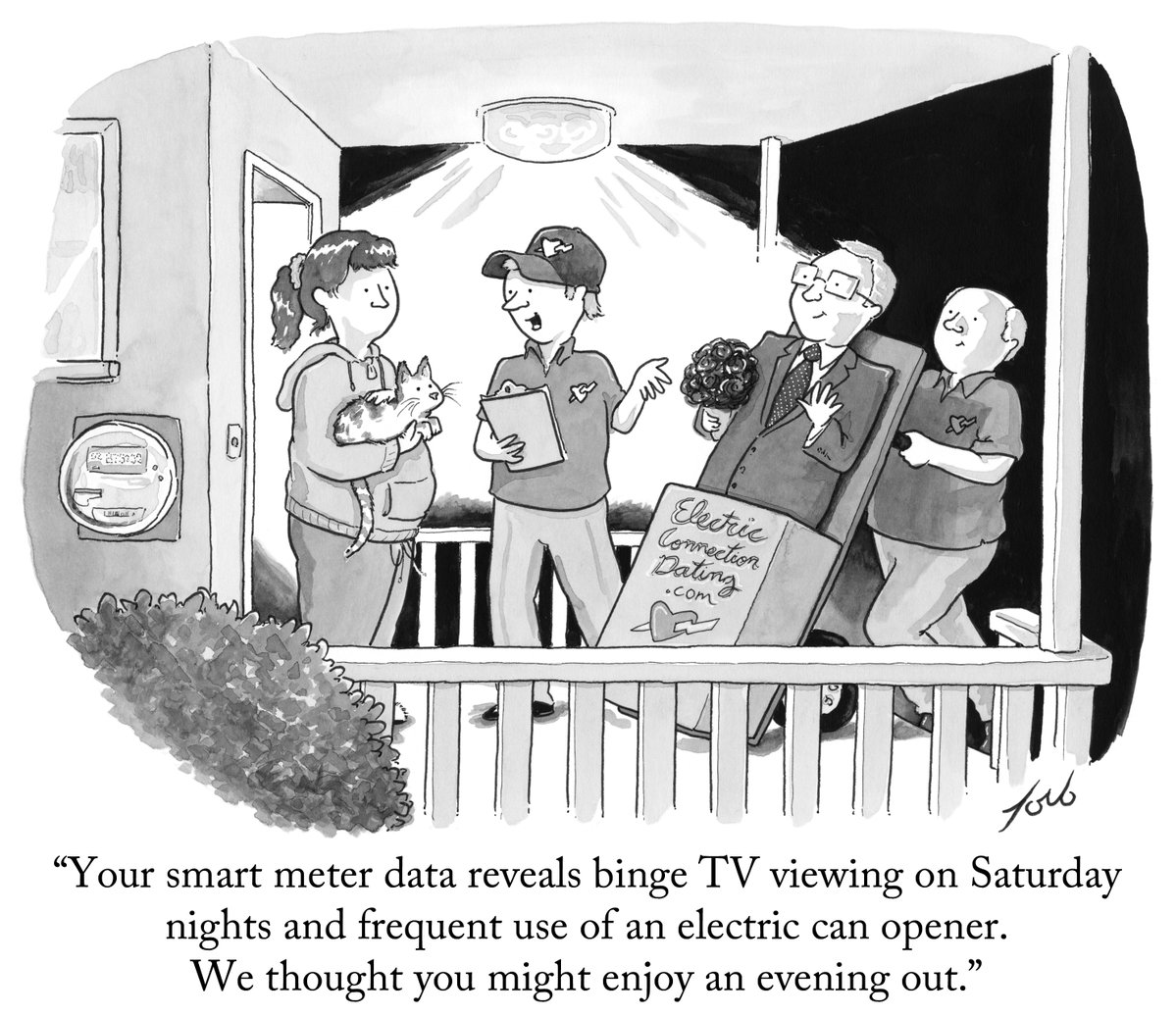 smart meter cartoon