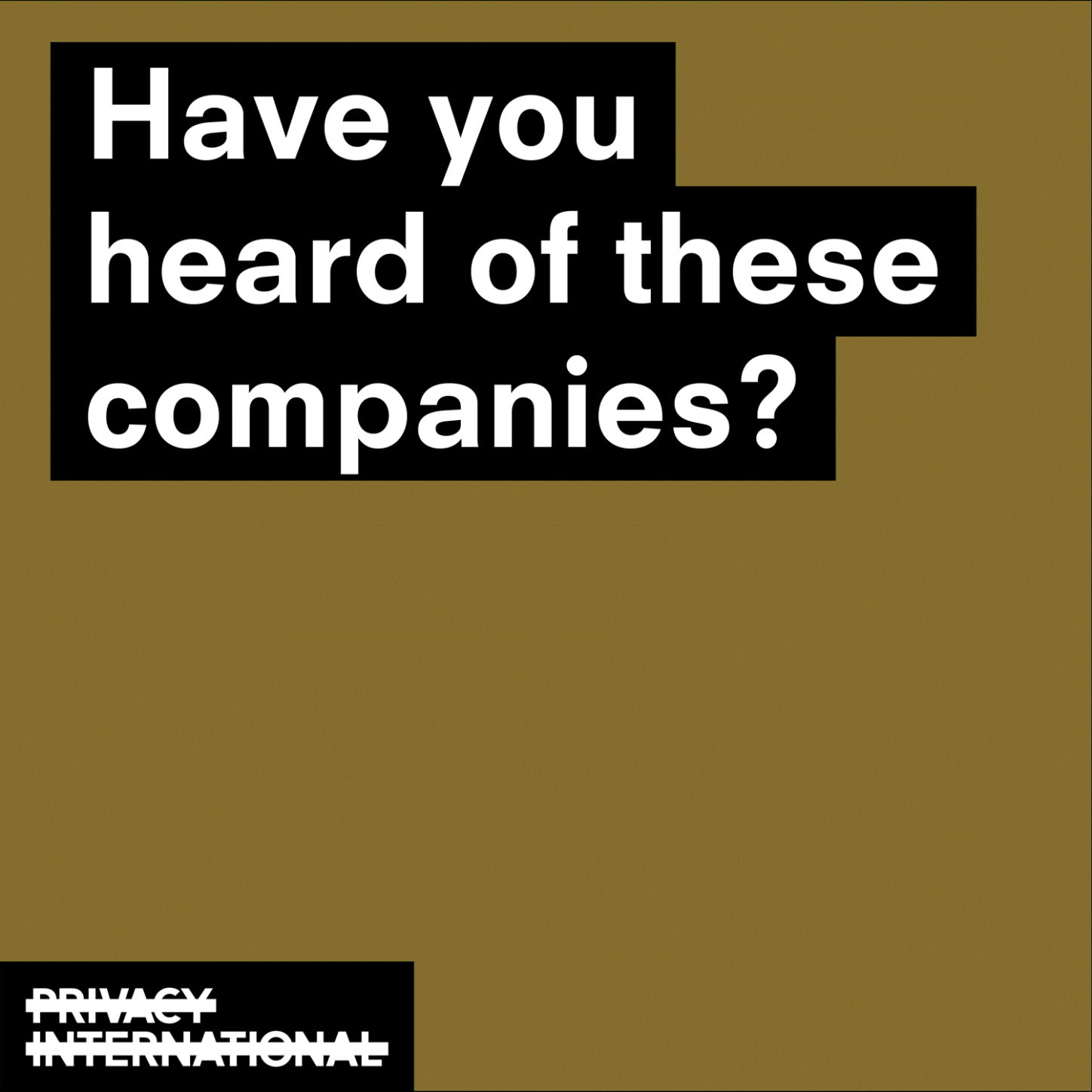 do you know these companies