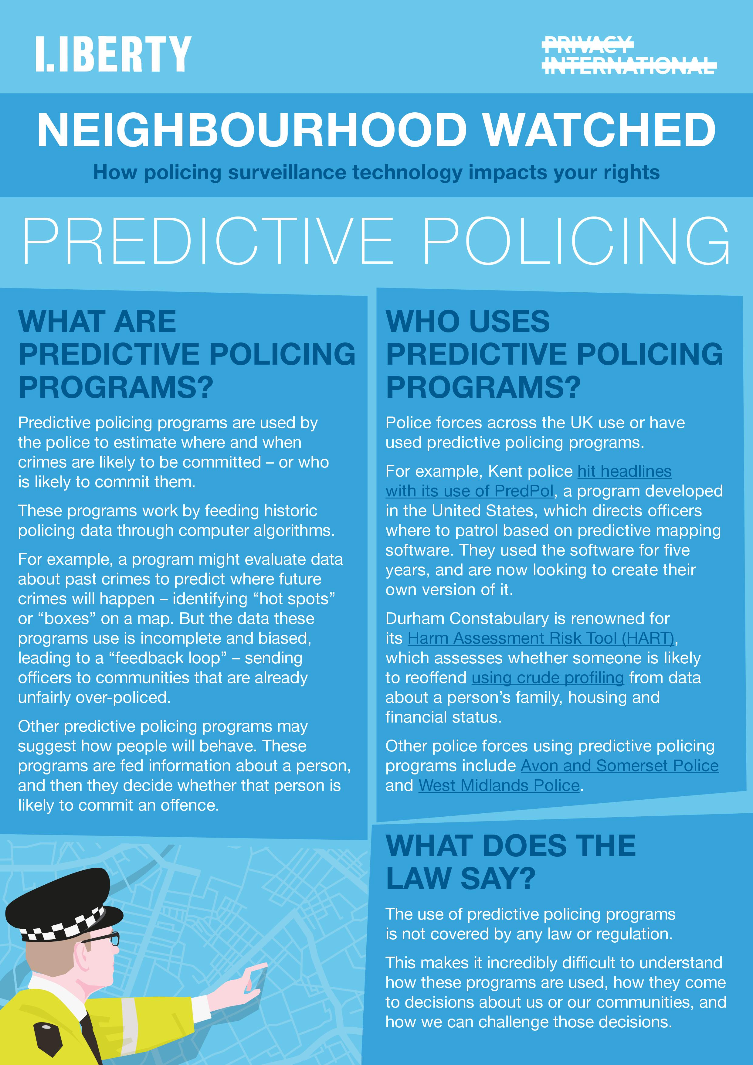 predictive policing explainer