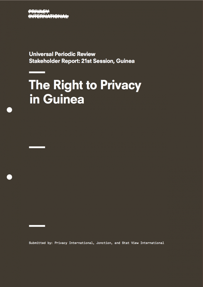 The Right to Privacy in the Republic of Guinea