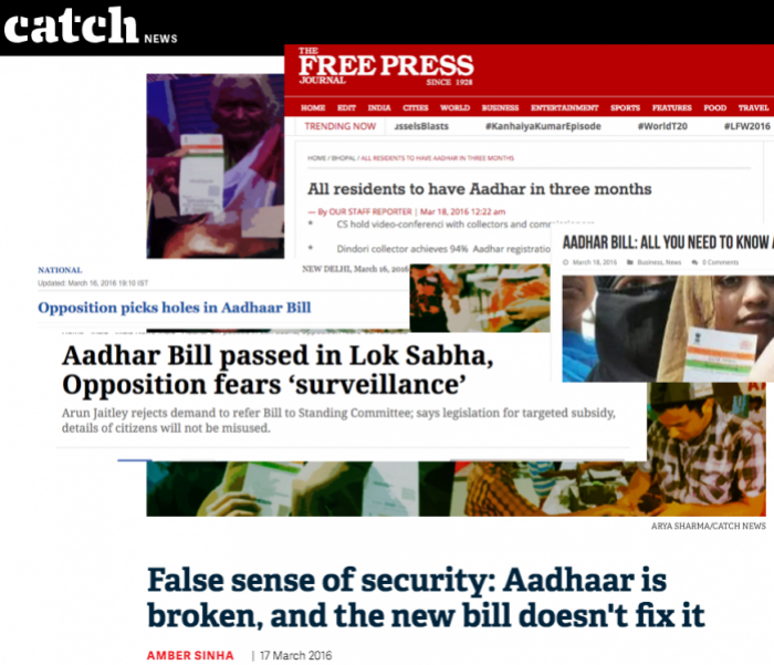 State of Surveillance in India