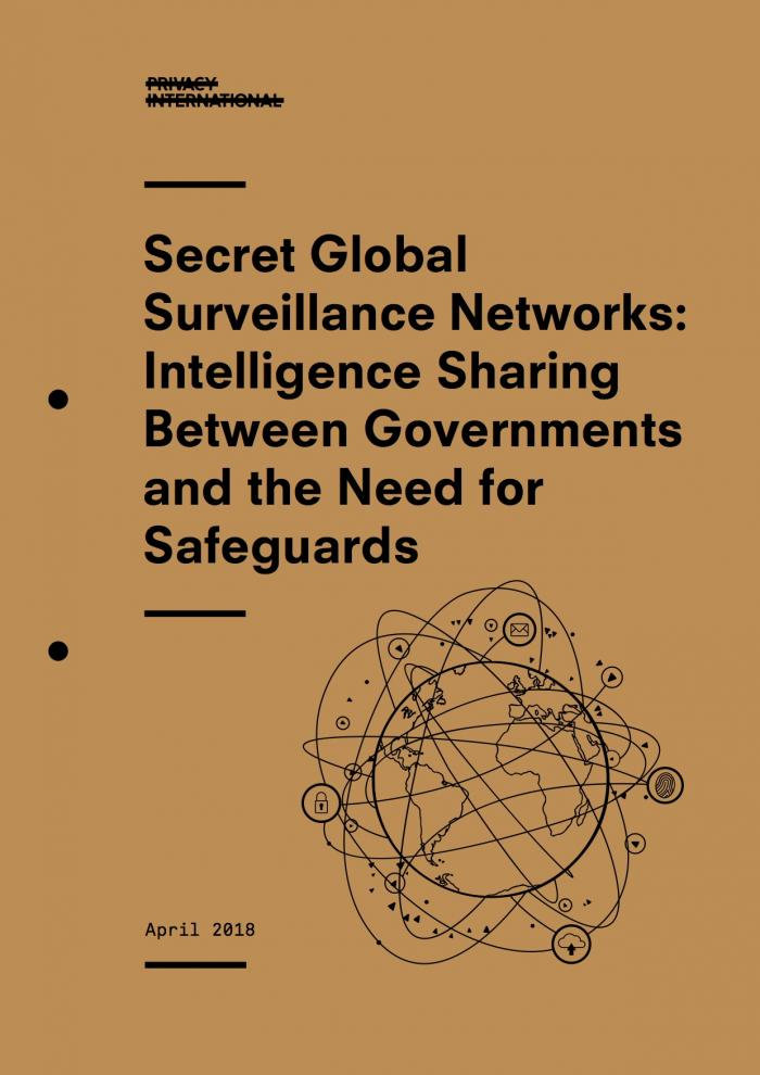 Secret Global Surveillance Networks cover