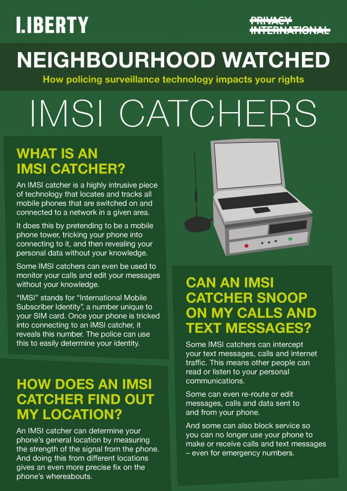 IMSI catcher explainer
