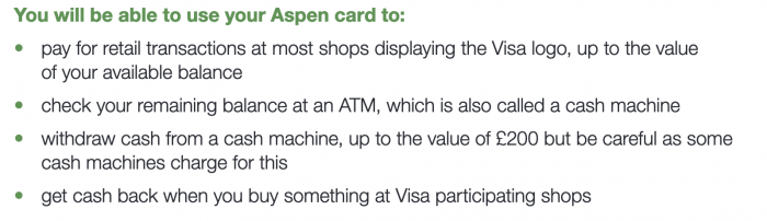 You will be able to use your Aspen card to_Home Office document