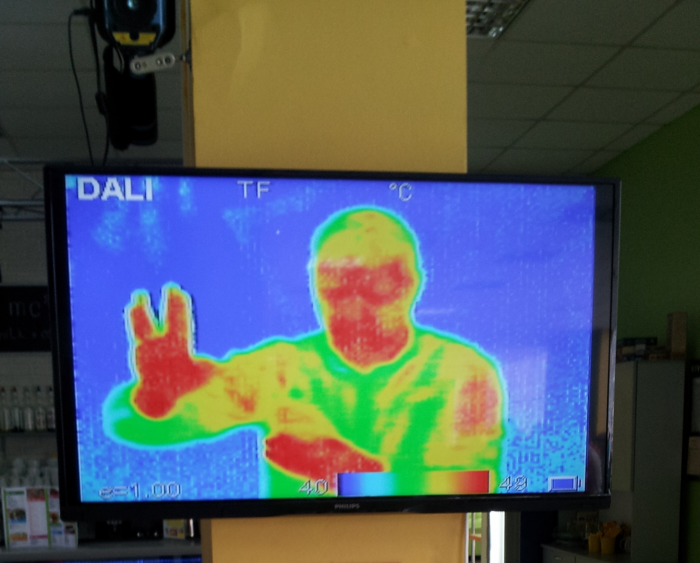 Thermographic camera, Museum of Interesting Science (Odessa, Ukraine)
