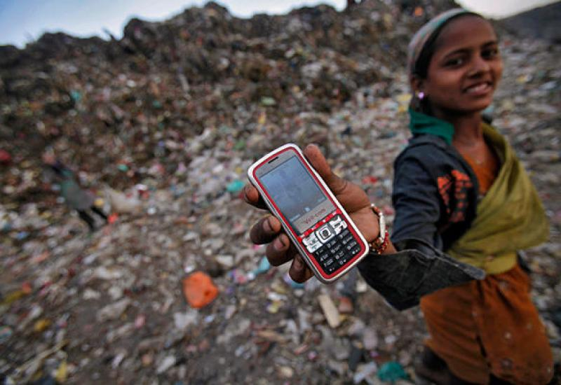 The promise, and problems, of mobile phones in the developing world