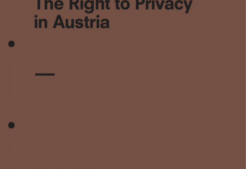 The Right to Privacy in Austria