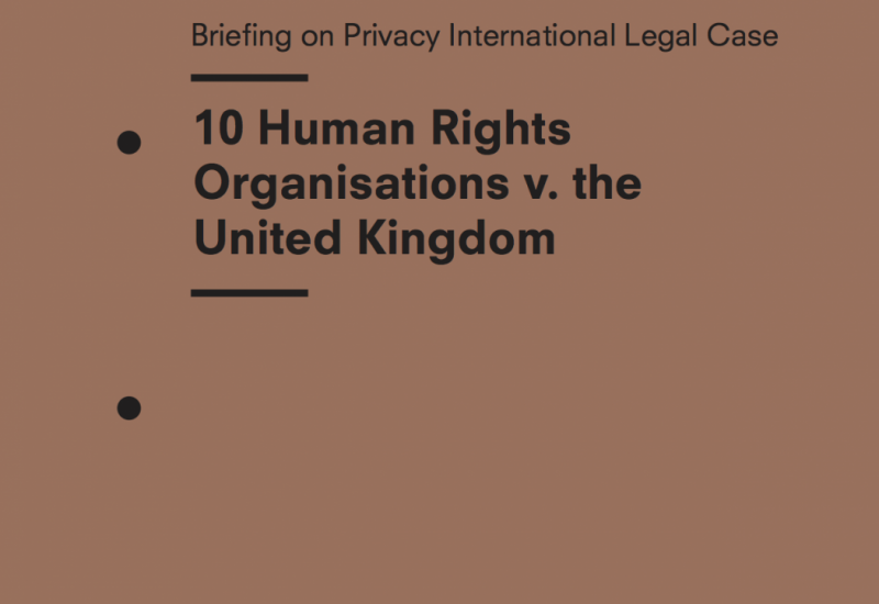 Recap: 10 Human Rights Organisations vs. The United Kingdom