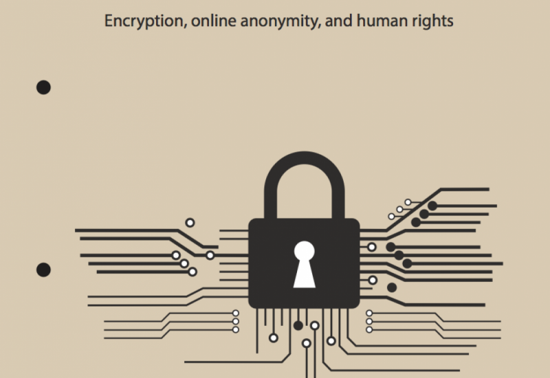 Securing Safe Spaces Online: Encryption, Online Anonymity and Human Rights