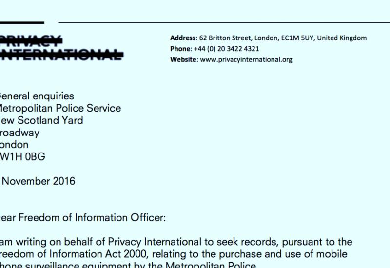 FOI request to Met Police