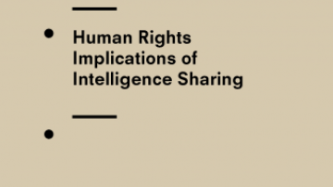 Briefing to National Intelligence Oversight Bodies on the Human Rights Implications of Intelligence Sharing