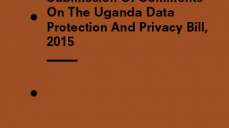 Advocating for Ugandans to be protected by the highest data protection safeguards