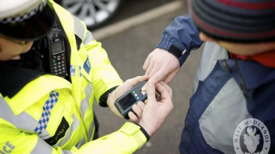 West Midlands Police - Mobile Fingerprint Scanners