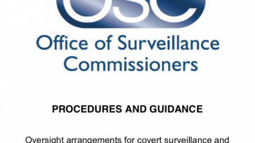Office of Surveillance Commissioners logo
