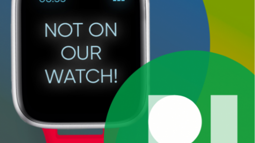 #NotOnOurWatch campaign visual
