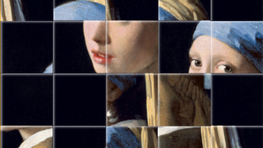Puzzle of the Girl with a Pearl Earring painting by Johannes Vermeer
