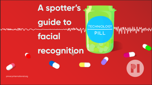Technology pill logo text reads A spotter's guide to facial recognition