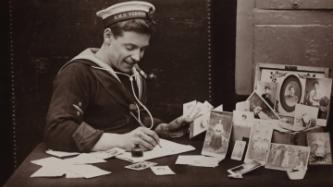 sailor writes letter