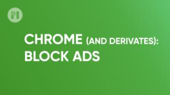 Block Ads Chrome